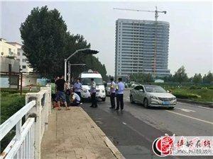 太吓人了,有一个女的不知道受了啥刺激,在县医院附近跳河了!!!