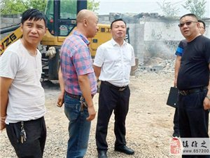 云南中润服饰有限公司在镇雄林口办的厂房来了这些领导・・・・・・・・・・