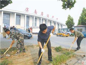 """""""创卫"""":博兴县做成德政工程和民心工程"""