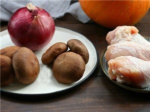 【南瓜香菇�u腿�F�】�菜一�出,有菜有肉有�