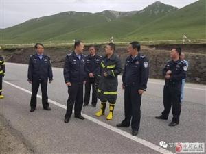 甘肃:一危化品运输车辆侧翻致百余车辆滞留,竟是因为司机...