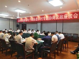 合阳县政协对国家级电子商务进农村综合示范县实施情况开展专题协商议政