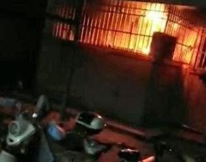 警惕!汉中一住户家中突然着火,只因停电后未将电源关闭