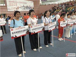 揭西县杨式太极馆参加2018广东省第十一届武术精英大赛