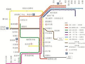 来凤城市公交最新运营路线图