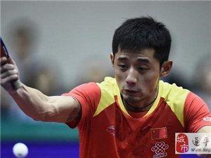 张继科因腰伤退赛 提前结束韩国赛征程