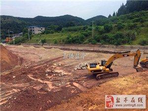 中嫘集团:盐亭桂花街市政道路加快建设