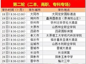 """7月22日吕梁国际宾馆""""高考志愿填报咨询会"""",专家助您选校择校"""