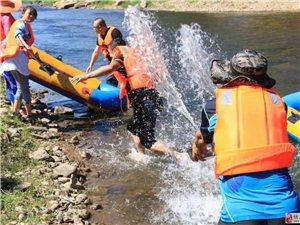 到石林河漂流,留下你10张激情、快乐的照片