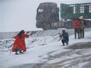 澳门威尼斯人注册人来降降温!头伏第二天,青海迎来七月份第三场大雪!