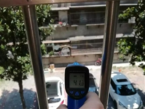 微友实测昨天气温突破40℃!今早高温预警又来袭!