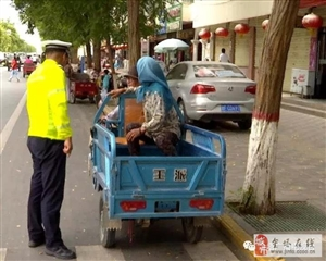 【交通与安全】金塔县公安交警大队开展交通不文明行为专项整治行动
