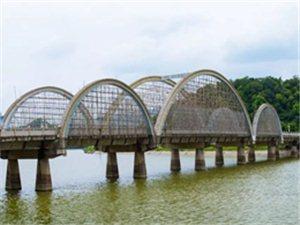 河婆县城彩虹桥,河江大桥即将大变样!最新施工进展