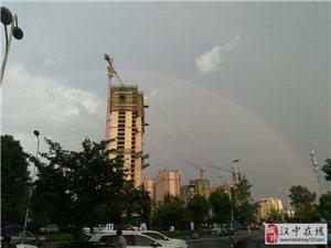 彩虹彩虹!威尼斯人网上娱乐平台雨后惊现彩虹刷爆朋友圈,你看见了么?