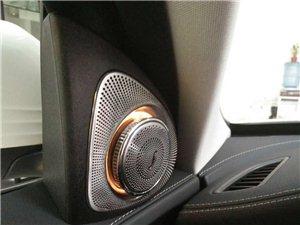 奔驰GLC C改舒适进入柏林之声音响盲点辅助旋转高音头