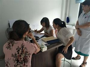 广汉市接受德阳市2018年国家基本公共卫生服务项目半年交叉绩效考核