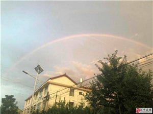 威尼斯人网上娱乐平台又现彩虹,好美啊