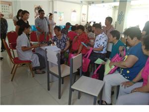 上都镇社区卫生服务中心世界肝炎日主题宣传活动