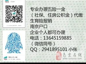 南京及全国社保代理,生育险报销,退休办理
