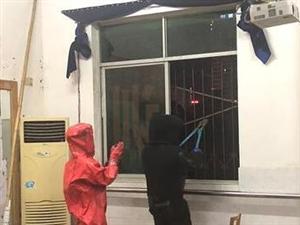 校园窗外巨大马蜂窝澳门赌博网站东宝消防及时清除