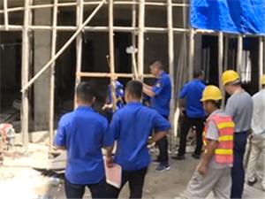 """揭西县城规局严厉打击清理""""小产权房""""和违法建设"""
