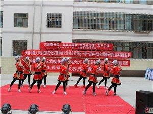 """河西学院马克思主义学院社会实践团队开展""""青春中国梦,赤诚社区情""""文艺汇"""