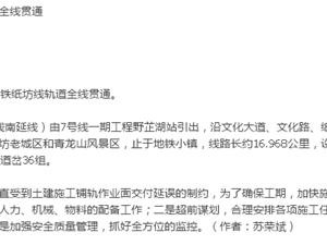 武汉轨道交通纸坊线全线贯通