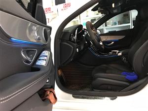 奔驰C200L原厂氛围灯安装作业――――金锐名车升级俱乐部