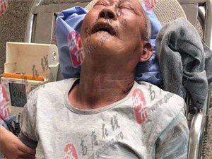 【急寻家属】彩588彩票一老人在新汽车站突发疾病!急寻病人家属