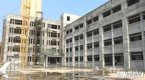 市第六、第七小学扩建项目主体完工