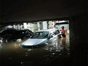 暴雨致榆林多辆机动车涉水受损,保险业损失预估近2000万