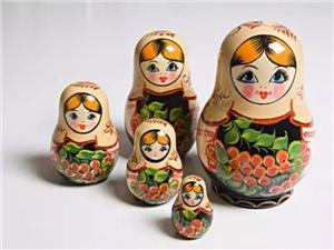 【凯德玖号院 】 俄罗斯套娃彩绘DIY 缤纷童年画出来!