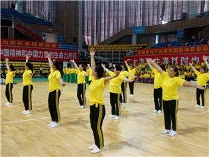 震撼!南溪体育馆400多人集体跳舞,逆天了!