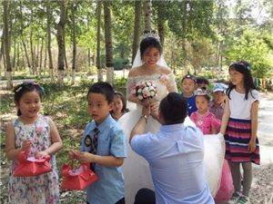 幼儿园里那场儿童节的森林婚礼,我们被爱包围