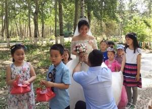 幼儿园里那场儿童节的森林婚礼,时时彩和值技巧稳赚我们被爱包围