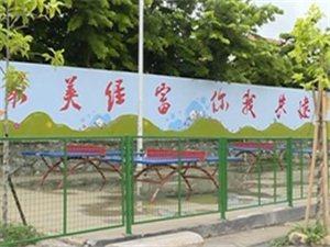 五经富:亮丽多彩文化墙绘出文明新风尚