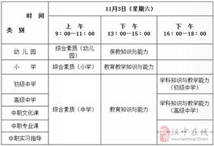下半年陕西中小学教师资格考试笔试9月4日起网上报名
