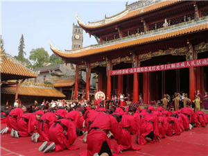 澳门威尼斯人游戏官网这群年轻人在文庙穿越千年!汉式成人礼刷爆朋友圈!