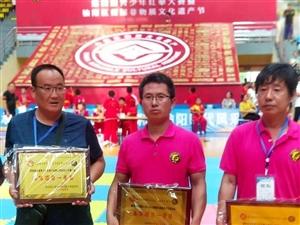 府谷代表队在省第四届全国青少年红拳大赛中喜获37枚金牌