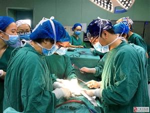 华西广安医院成功开展介入下子宫双切口凶险性前置胎盘剖宫产术