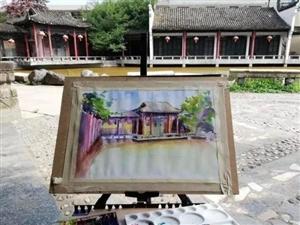 威尼斯人网上娱乐平台风景手绘图,画的比拍的照片还美!