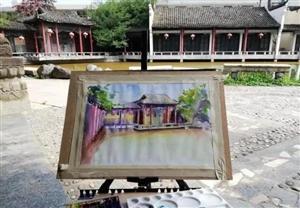 汉中风景手绘图,画的比拍的照片还美!