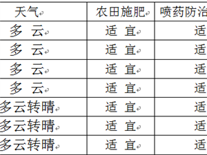 桐城市气象局 2018年8月20日发布
