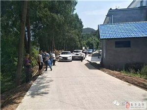 盐亭首例轻微交通事故拒不撤离现场引发堵车被罚