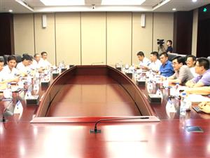 刘中汉徐雄等赴中交一公局集团对接项目建