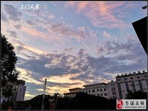 【苍溪】美丽的晚霞(手机版)【图】