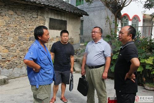 县民宗局积极响应县委8、10精准扶贫日见闻