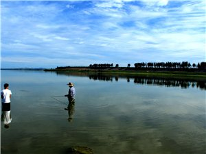 赤峰红山水库风景