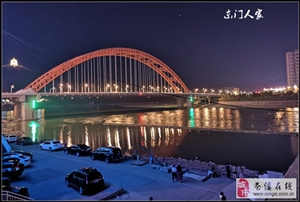 【苍溪】滨江夜景美(手机版)【图】