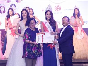 世界旅游小姐韩国赛区落幕